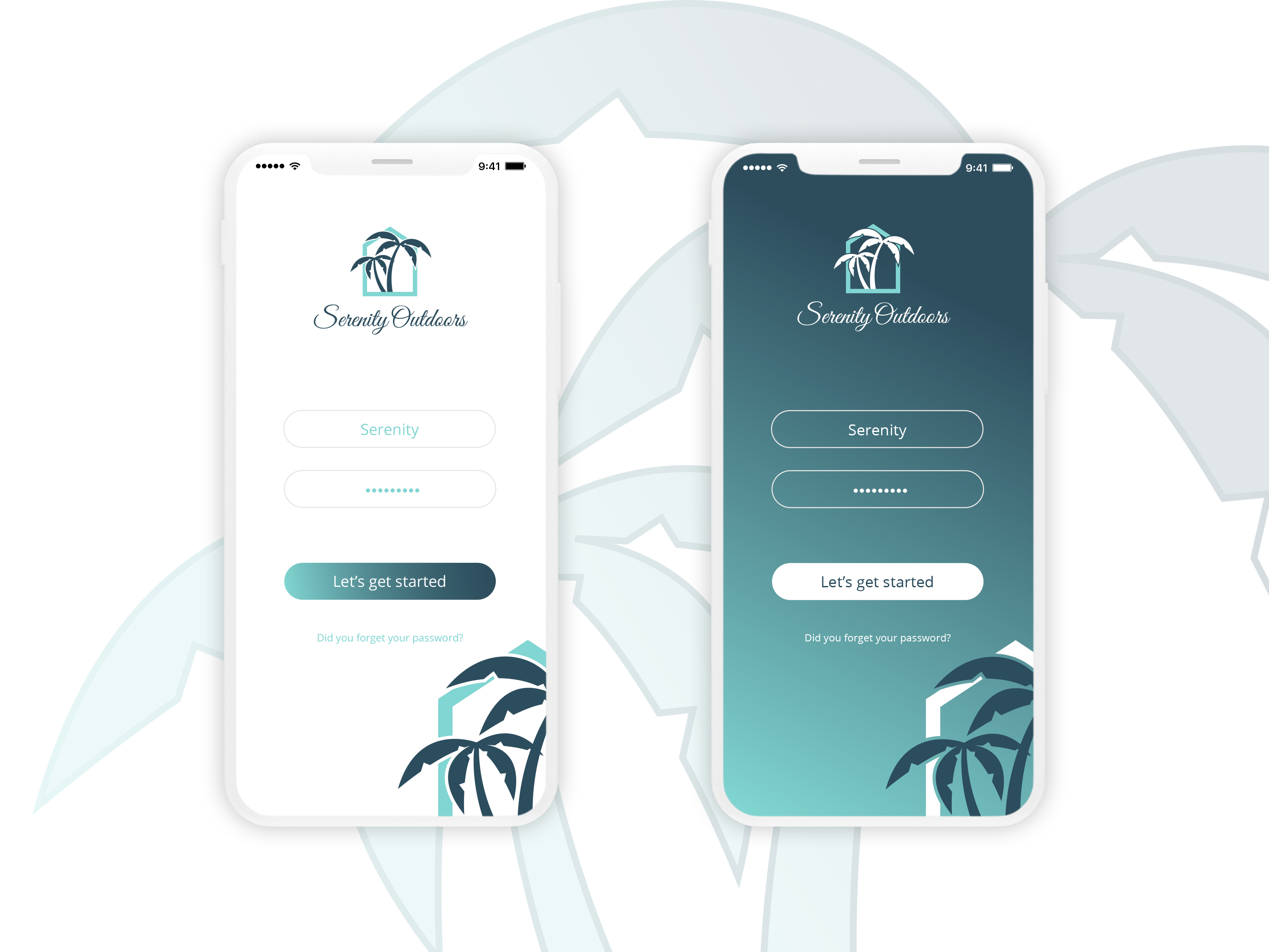 App splash screen design